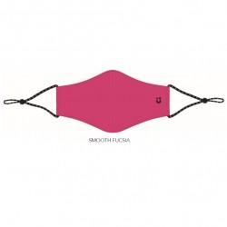 Mascarilla Reutilizable con Viroblock Fuli Smooth Rosa Fucsia Talla M