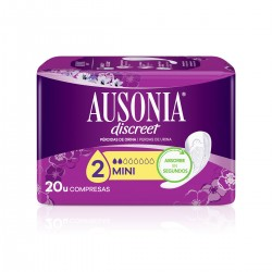 AUSONIA Discreet Mini Compresa 20 Unidades