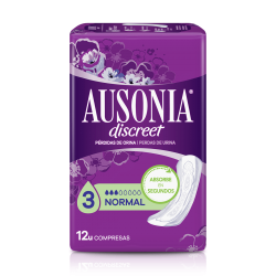 AUSONIA Discreet Normal Compresa 12 Unidades