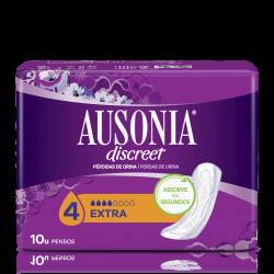 AUSONIA Discreet Extra Compresa 10 Unidades