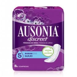 AUSONIA Discreet Maxi Compresa 8 Unidades