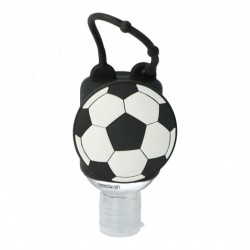 Porta Hidrogel Infantil Fútbol INCA + Gel Hidroalcohólico 50ml