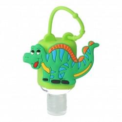 Porta Hidrogel Infantil Dinosaurio INCA + Gel Hidroalcohólico 50ml