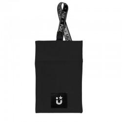 PORTA MASCARILLAS de Tela Bolsa Lavable Color Negro Fuli MaskBag