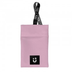 PORTA MASCARILLAS de Tela Bolsa Lavable Color Pink Fuli MaskBag