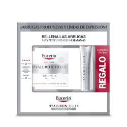 EUCERIN Hyaluron-Filler Día Piel Seca FPS15 + Hyaluron-Filler Contorno de Ojos de REGALO