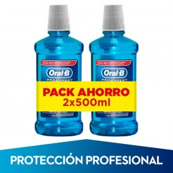 ORAL-B Pro-Expert Enjuague Bucal 2x500ml