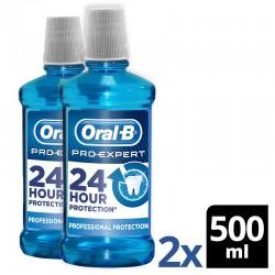 ORAL-B Pro-Expert Enjuague Bucal 2x500ml