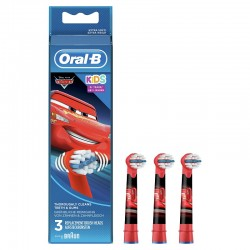 ORAL-B Kids Recambios Cepillo Eléctrico Infantil Cars 3 Recambios