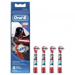 ORAL-B Recambios Cepillo Eléctrico Star Wars 4 Cabezales