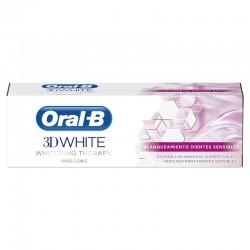 ORAL-B Pasta de Dientes 3D White Whitening Therapy Blanqueamiento Dientes Sensibles 75ml