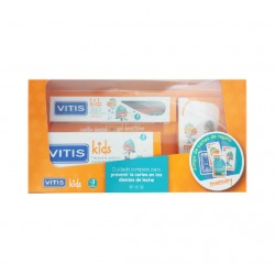VITIS Kids Pack Cepillo Dental + Gel Dentífrico + Juego REGALO