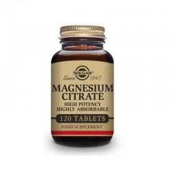 SOLGAR Citrato de Magnesio 120 Comprimidos