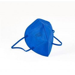 MASCARILLA FFP2 con Certificado CE color Azul BFE 95% NR 1 mascarilla