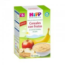 HIPP Biológico Papilla Cereales Integrales con Fruta +6 meses 600gr