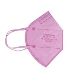 MASCARILLA FFP2 NR Protectora Desechable Adulto con 5 Capas 1 unidad INCA Rosa