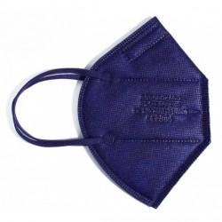 MASCARILLA FFP2 NR Protectora Desechable Adulto con 5 Capas 1 unidad INCA Azul Marino