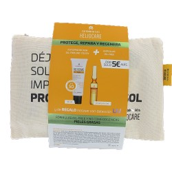 HELIOCARE 360º Pack Gel Oil-Free SPF 50 + 10 Ampollas Radiance C Oil Free + Neceser de REGALO