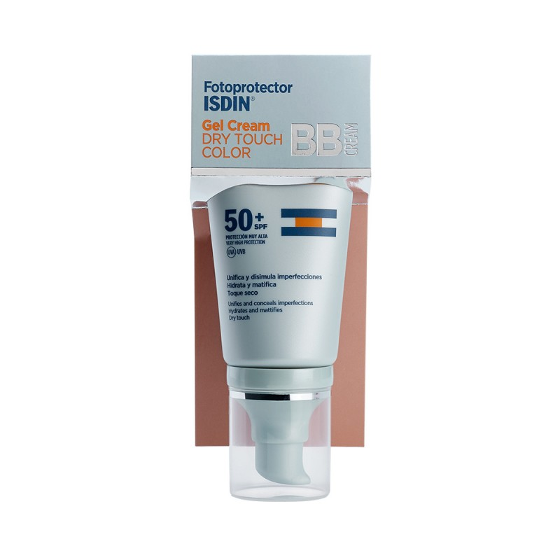 ISDIN Fotoprotector Gel Cream Dry Touch Color SPF 50+ 50ml