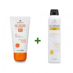 HELIOCARE Pack Ultra Gel SPF90 50ml + 360º Invisible Spray SPF50+ 200ml
