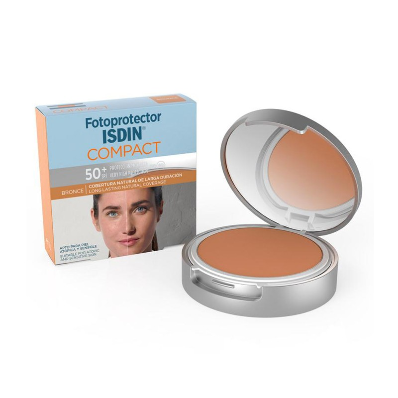 ISDIN Fotoprotector Compact Bronce SPF 50+ 10g