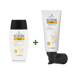 HELIOCARE Pack 360º Pediatrics Mineral SPF50+ (50ml) + Loción SPF50 (200ml)
