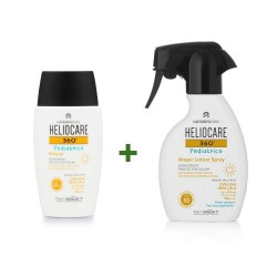 HELIOCARE Pack 360º Pediatrics Mineral SPF50+ (50ml) + Atopic Locion Spray SPF50 250ml