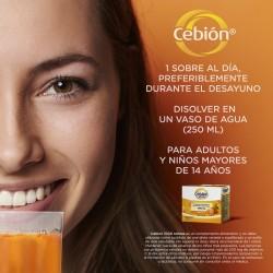 CEBIÓN Vitamina C 1000mg 12 Sobres