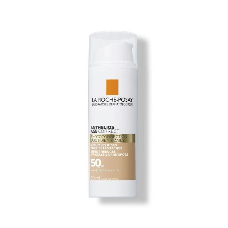 ANTHELIOS Age Correct con Color SPF 50+ 50ml