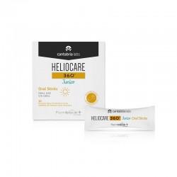 Heliocare 360º Junior Oral Sticks 20 Sobres Granulados