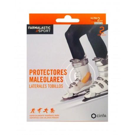 FARMALASTIC Sport Protectores Maleolares 2 Unidades