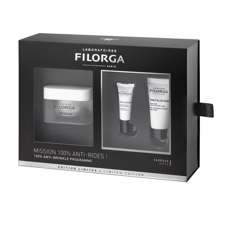 FILORGA Pack Time-Filler Crema Antiarrugas+Time-Filler Eyes+Time-Filler Night