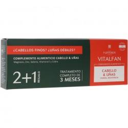RENE FURTERER Vitalfan Vitalidad Cabello y Uñas 60 Cápsulas + 30 GRATIS