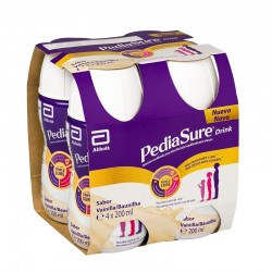 PediaSure Drink Vainilla 4x200ML