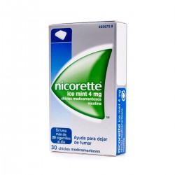 NICORETTE Ice Mint 4mg 30 Chicles
