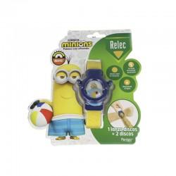 RELEC Pulsera Antimosquitos Infantil con Citronela Minions Azul