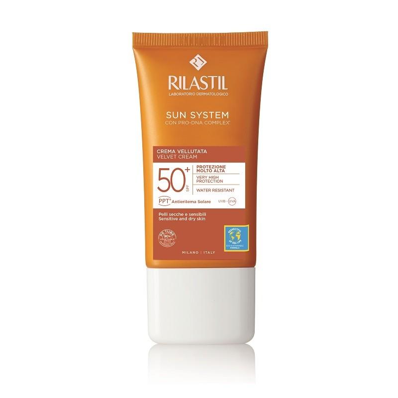 RILASTIL SUN SYSTEM SPF50+ Crema Velluto Facial 50ml