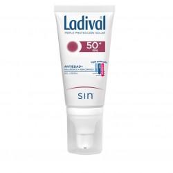 LADIVAL Antiedad + Ácido Hialurónico y ADN Complex Gel-Crema SPF50+ (50ml)