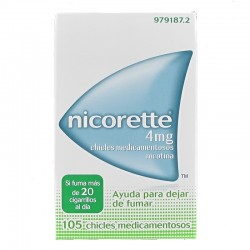 NICORETTE 4mg 105 Chicles