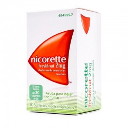 NICORETTE Fresh Fruit 2mg 105 Chicles