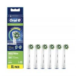 ORAL-B CrossAction Recambio con CleanMaximiser 6 Cabezales
