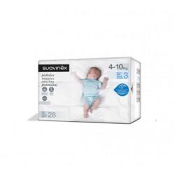 SUAVINEX Pañales de Bebé Talla 3 Media (4-10kg) 28 Unidades