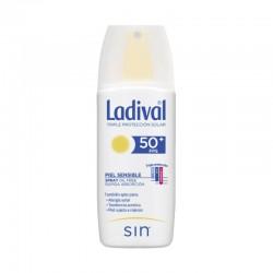 LADIVAL Protector Solar Spray SPF 50+ Piel Sensible 150ml