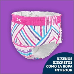 DODOT Happyjama Pañal Niña 8-12 años Braguitas Absorbentes 13 unidades
