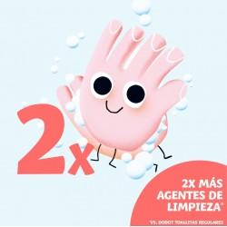 DODOT Toallitas Higienizantes de Manos Limpias 40 uds.