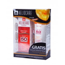 HELIOCARE SPF50 GelCream Brown 50ML + Heliocare SPF50 Spray 75ML