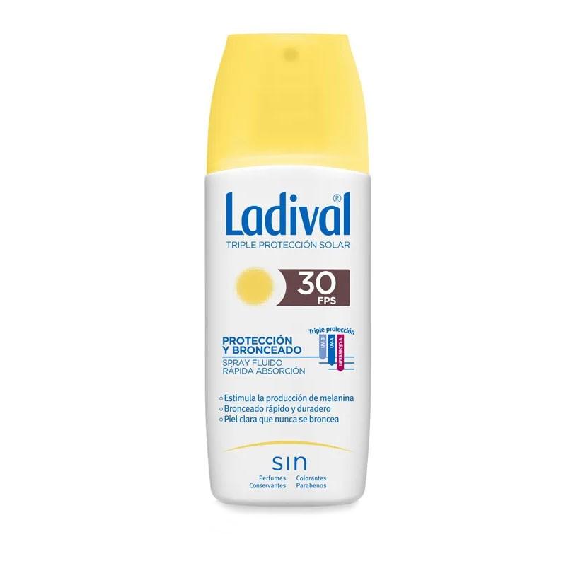 LADIVAL Protección y Bronceado SPF 30 Spray 150ml