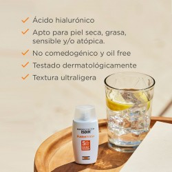 ISDIN Fusion Water SPF50 (50ml) + Spray Transparente Wet Skin 100ml PACK ISDIN FOTOPROTECCIÓN