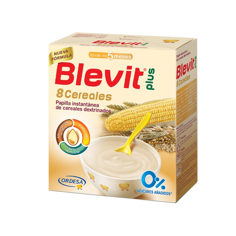 BLEVIT 8 Cereales Papilla 600g