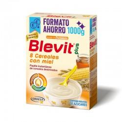 BLEVIT 8 Cereales con Miel Papilla 1000g